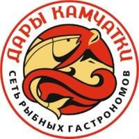 Логотип Дары Камчатки/ Морепродукты Ростов-на-Дону