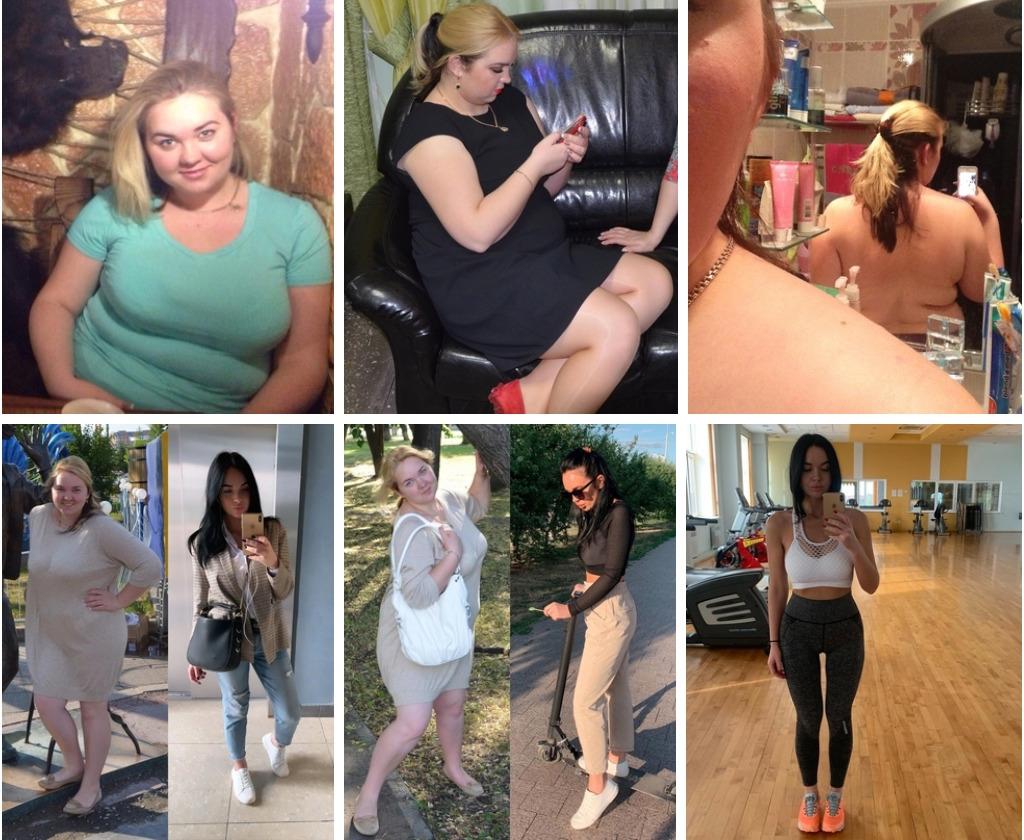 Девушка Марина похудела на 41кг