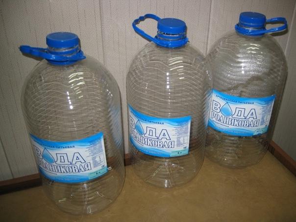 Кому нужны канистры для воды 6 литров.Чистые питье...