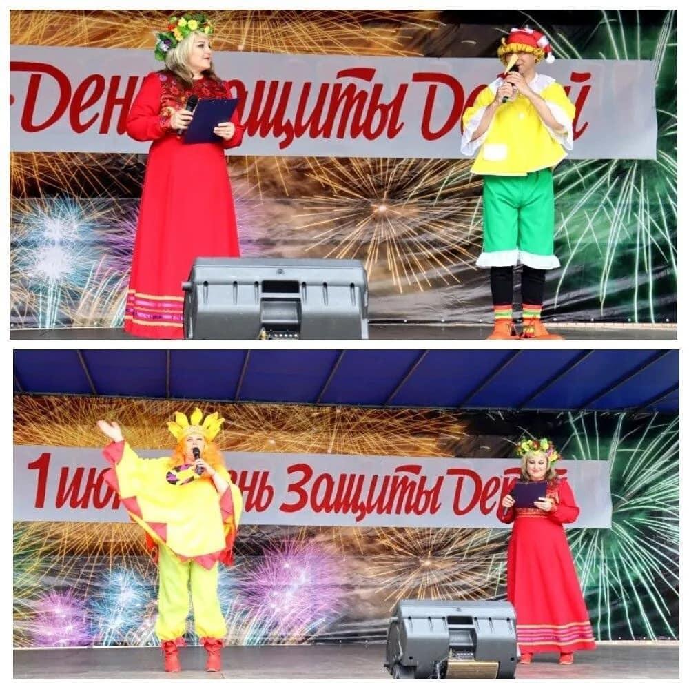 В парке культуры и отдыха Петровска проходят игровые и развлекательные программы, посвящённые Дню защиты детей