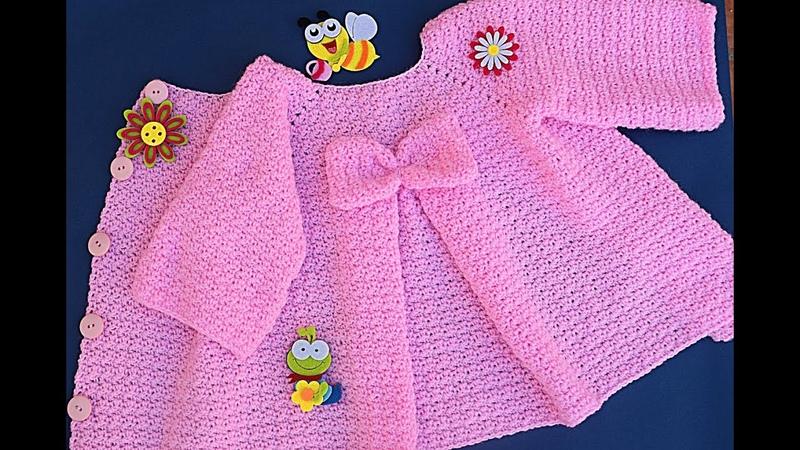 Crochet Cute coat for girl Majovel crochet crochet