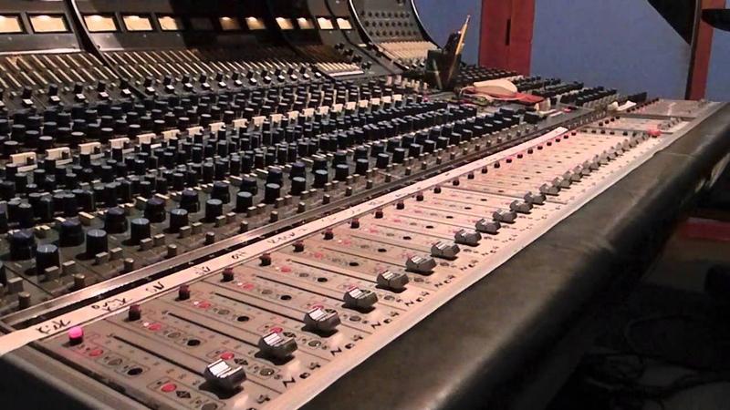 Neve 8068 Diagnostic Tests Flying Faders and Lights at Sabella Studios