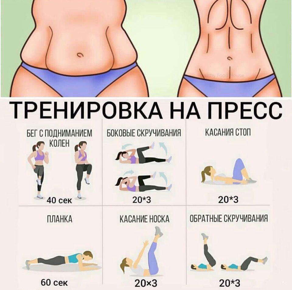 Комплексы упражнений на ножки и пресс