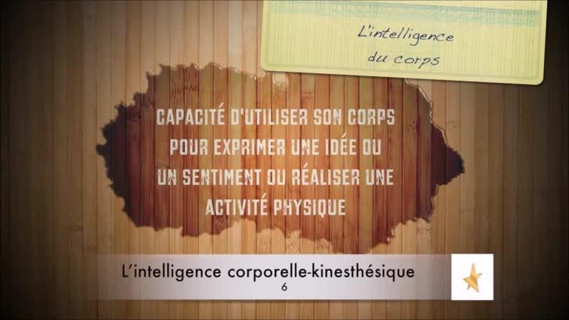 📋 Qu'est-ce que l'Intelligence Corporelle Kinesthésique ? {Howard Gardner} ✔2 🇫🇷