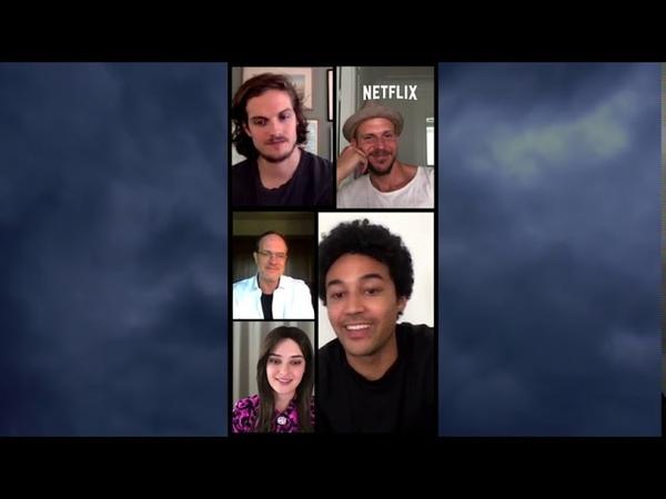Netflix's CURSED Cast Interviews with co creator Tom Wheeler