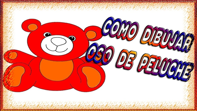 Cómo dibujar un Osito de Peluche Paso a Paso 🌷🌷How to draw a Teddy Bear Step by Step