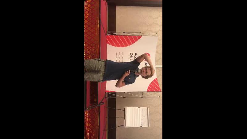 Онлайн-трансляция закрытия II Антиконференции Accel на Бали