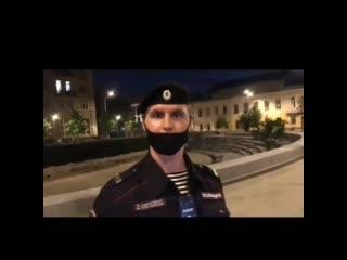 Полицейский со своими законами в Москве