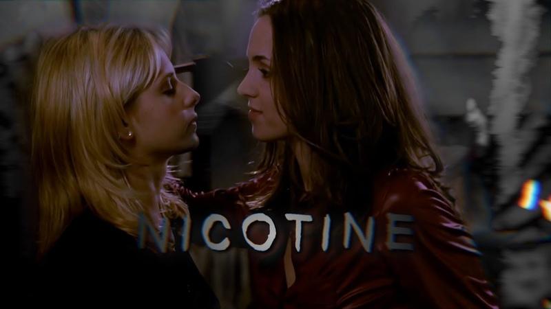Faith and buffy || worse than nicotine