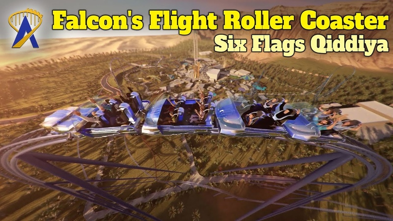 Falcon's Flight World Record Breaking Roller Coaster Coming To Six Flags Qiddiya