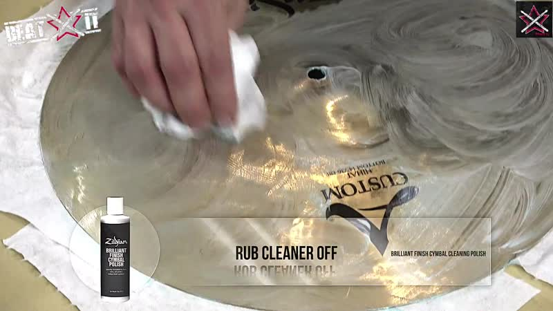 Beatit Test Zildjian Brilliant Finish Cymbal Polish