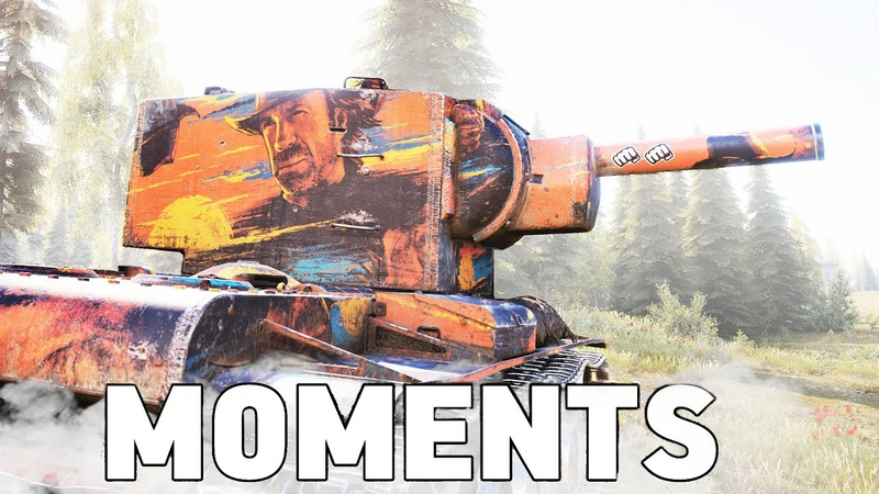TOP 50 FUNNIEST MOMENTS in WORLD OF TANKS
