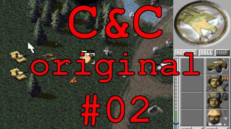 С C Original DOS Прохождение 02 Уровни 5 6 Кампания GDI GIHTP