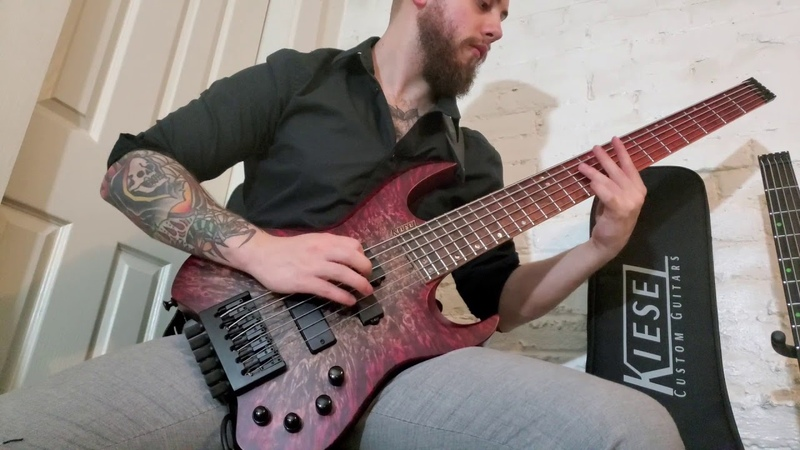 MORDANT RAPTURE Natal Trophies Bass Playthrough