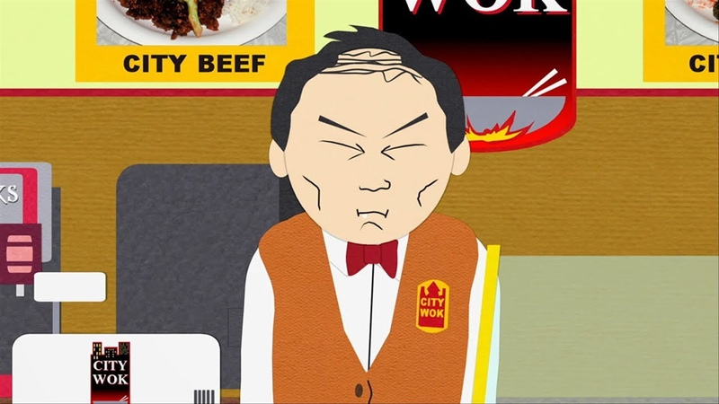 City Wok Guy's Great Wall South Park Child Abduction Is Not Funny s06e11
