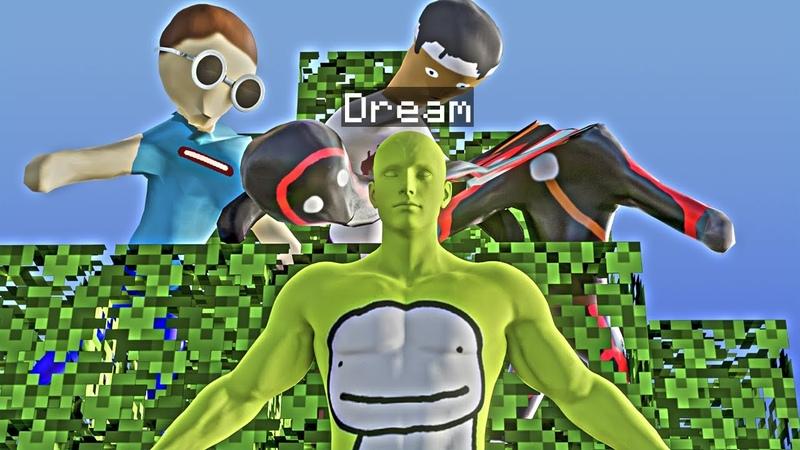 Minecraft manhunt in a nutshell