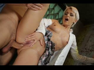 Kittina Ivory - After School Delight - Anal Sex Teen Babe Blonde Deepthroat Gagging Schoolgirl Hardcore Piercing Cum Porn, Порно