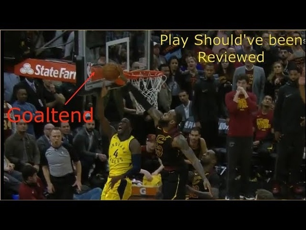 Did Lebron James Really Goaltend Victor Oladipos Shot YES!! But....