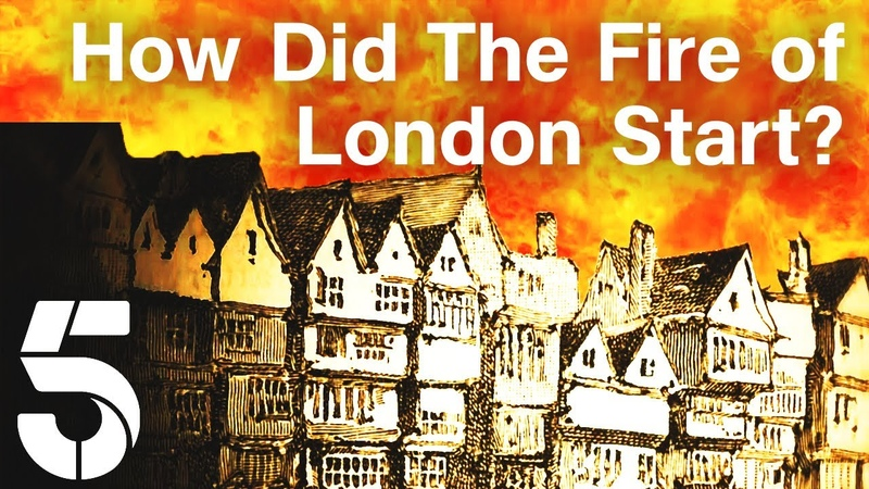 How Did The Great Fire of London Start The Great Fire London Burns Channel 5 History