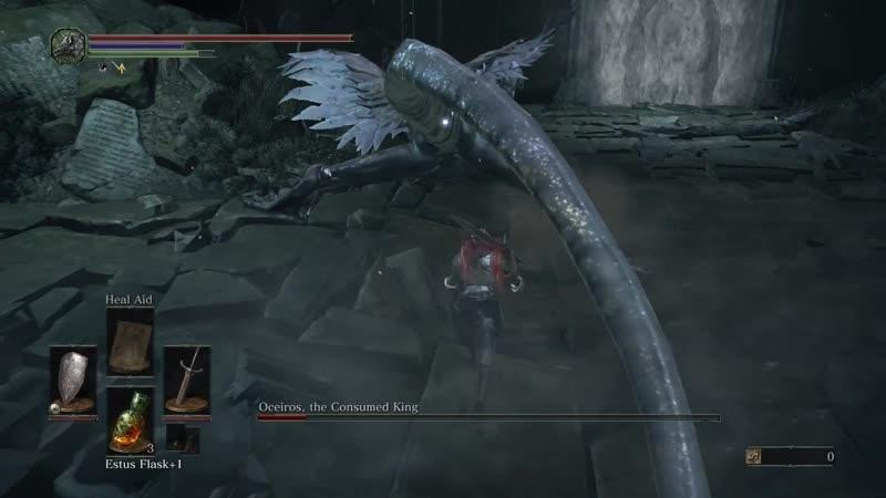 💀 Boss Oceiros the Consumed King 🎮 Dark Souls III 🇬🇧