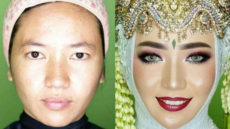 Преображение восточной невесты Жених не узнает будущую жену