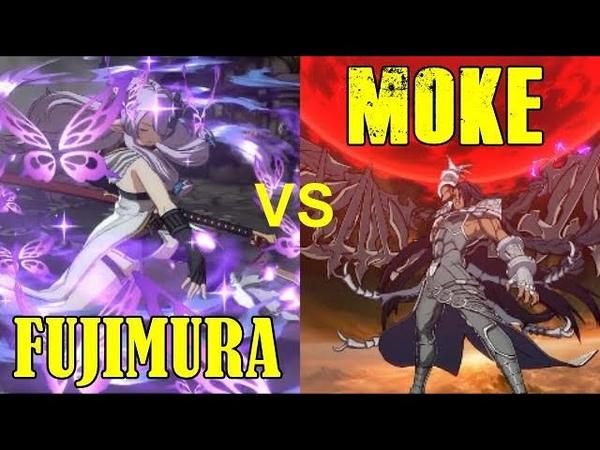 グラブルVS Fujimura Narmaya VS Moke Beelzebub New Day One DLC Battle Granblue Fantasy Versus