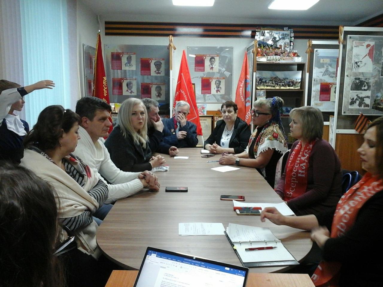 В Новом Уренгое состоялось общее собрание регионального отделения ООД «Всероссийский Женский Союз - Надежда России»