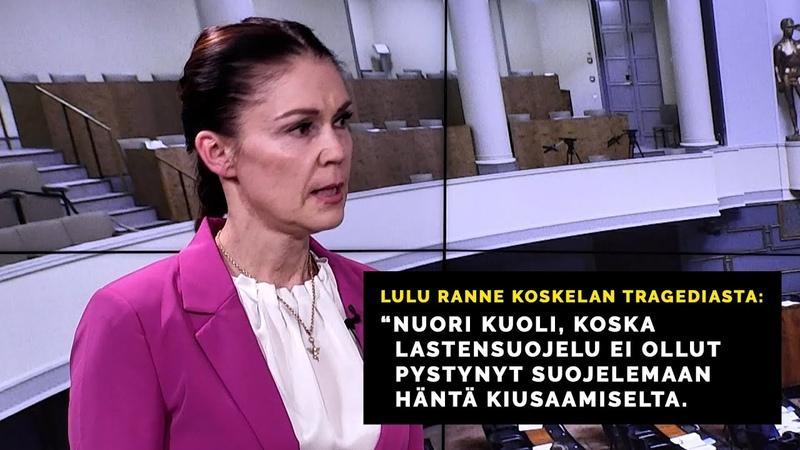 Lulu Ranne Koskelan tragediasta Niin uhri kuin syytetyt olisivat tarvinneet apua ennen kouluikää