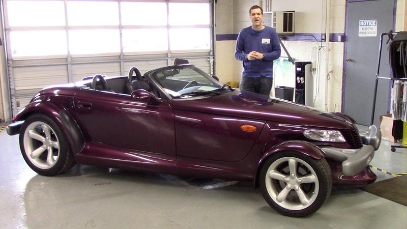 Вот почему Plymouth Prowler это самая странная машина 90 х