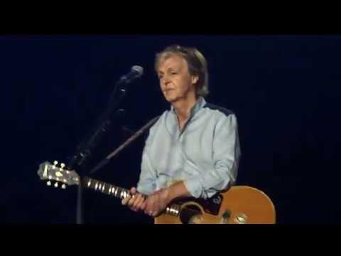 Paul McCartney Yesterday Freshen Up Tour 2018 Quebec