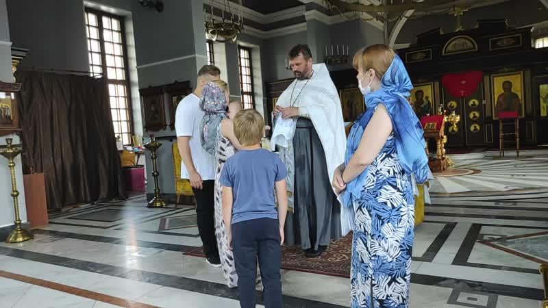 Крещение Кирила