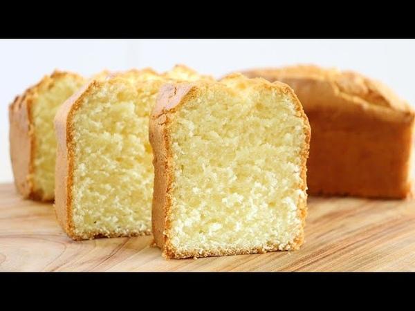 How to make very soft sour cream pound cake