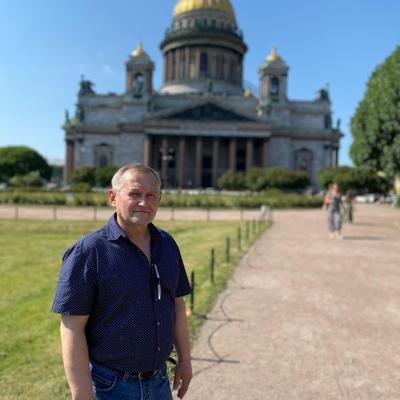 Валерий, 53, Kolpino