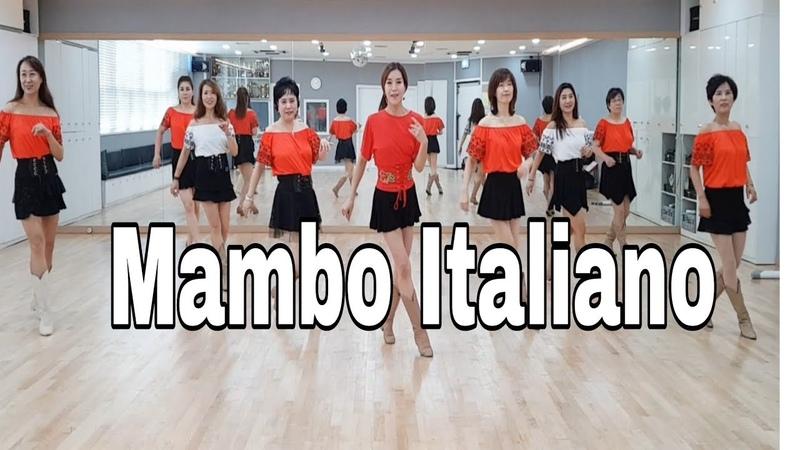 Mambo Italiano Line Dance Beginner Susan Prats