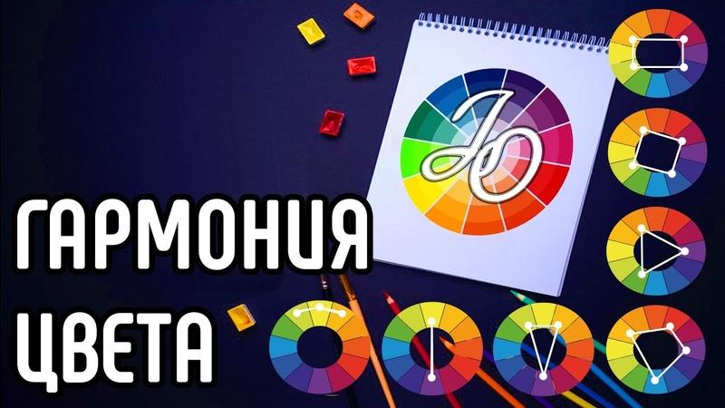 Сочетание цветов. Цветовые схемы и их использование Types of color schemes