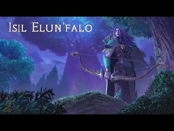 Sharm ~ Isil Elun'falo World Of Warcraft Night Elf Song