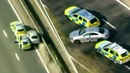 Disqualified driver leaves four police cars damaged in dramatic chase | LBC