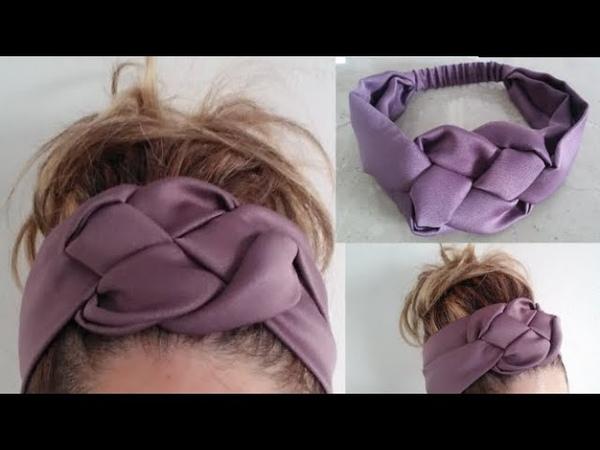 Turbante- vincha trenzadaAccesorio para cabello. Head band