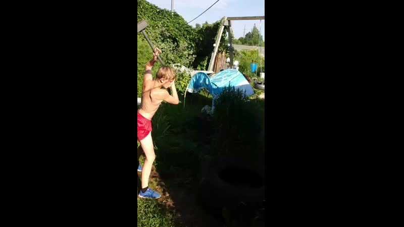 CrossFit в Волчьем логове part 2