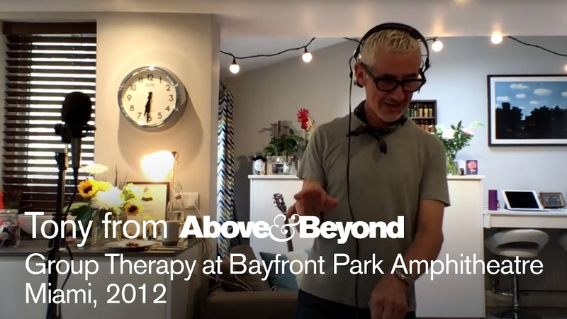 AB @ Group Therapy Miami 2012 Recreated by Tony McGuinness - livestream trance classics DJ set