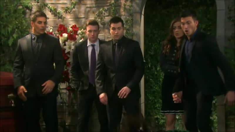 Days of our Lives 10.24.19 BenCiara scenes Funeral!!