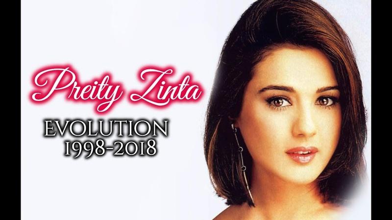 Preity Zinta Evolution (1998-2018)