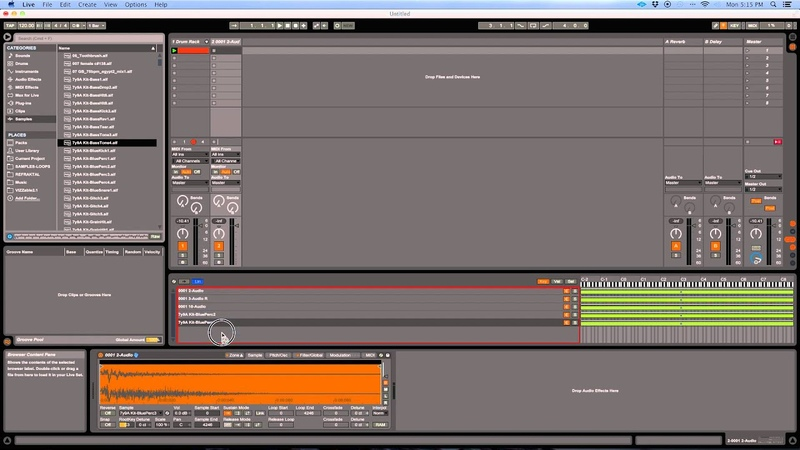 IDM Glitch Sounds with Ableton Sampler Max for Live LFO Tool