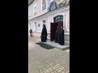Открытие выставки, посвящённой архимандриту Иоанну (Крестьянкину)