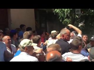 Потасовка на избирательном участке под Одессой