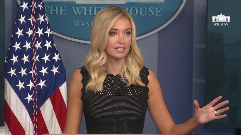 07 08 20 Press Secretary Kayleigh McEnany Holds a Briefing