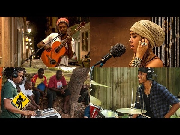 Rasta Children feat Nattali Rize Brushy One String Playing For Change Song Around The World