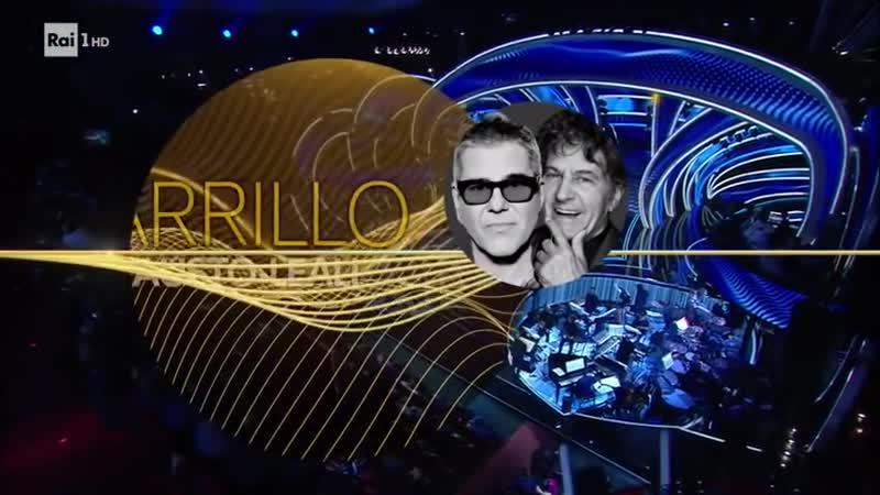 Michele Zarrillo con Fausto Leali Deborah Serata cover Sanremo 2020