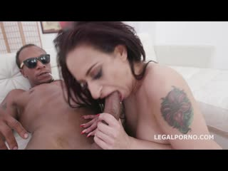 Casting Lilly Cox Vs Dylan Brown for Balls Deep Anal and Swallow - Rough Sex Tee
