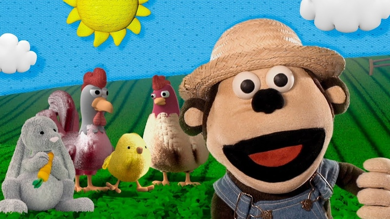 Bubba el granjero Mono Bubba y sus Amigos